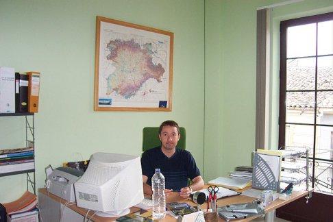 Manuel Acero, gerente de Araduey