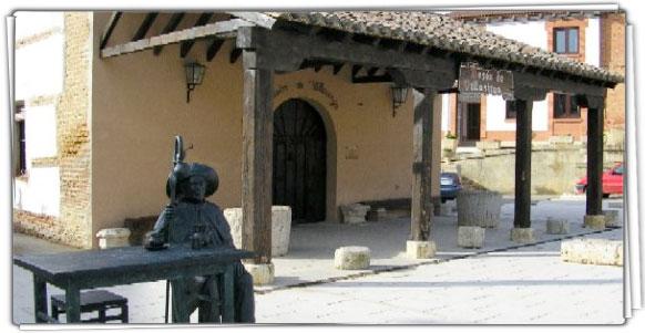 Escultura en Villalcazar